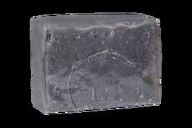 100% Natürliche schwarze Tonerde-Seife - handgeschöpft