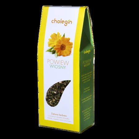 022 Cholegin – DER HAUCH DES FRÜHLINGS Grüner Tee 40 g (1)