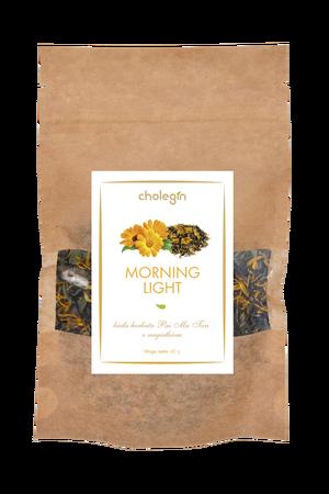 013 Cholegin – Weißer Tee Pai Mu Tan mit Ringelblume Morning Light 30g (1)