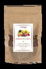 Herbata Rooibos z kawałkami maliny i greipfruta, czarnym bzem, płatkami róży i słonecznika (1)